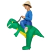 Picture of Fan Operated Inflatable Dinosaur Costume Suit for Kids