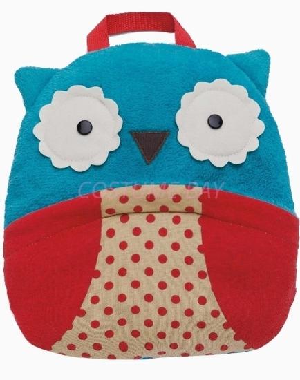 Picture of Kids Animal Travel Fleece Blanket -  Owl