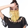 Picture of Dancing Face Veil - Yellow