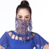 Picture of Dancing Face Veil - Dark Blue