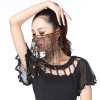 Picture of Dancing Face Veil - Black