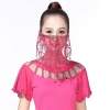 Picture of Dancing Face Veil - Red