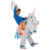 Picture of Fan Operated Inflatable Unicorn Costume Suit for Kids and Adults