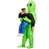 Picture of Fan Operated Inflatable Alien Costume Suit for Kids and Adults