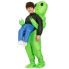 Picture of Fan Operated Inflatable Alien Costume Suit for Kids