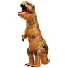 Picture of Fan Operated Inflatable  T-Rex Dinosaur Costume Suit for Adult  and Kids