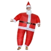 Picture of Fan Operated Inflatable Santa Costume Suit for Adult