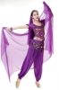 Picture of Women's Belly Dance Two Pieces Outfits -Black