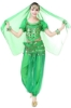 Picture of Women's Belly Dance Two Pieces Outfits - Red
