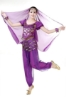 Picture of Women's Belly Dance Two Pieces Outfits - Rose