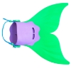 Picture of Kids Mermaid Monofin - Green