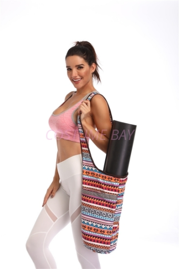 Picture of Canvas Sports Yoga Bag-Bohemia