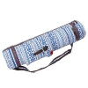 Picture of Canvas Sports Yoga Bag with Zipper - Leaves