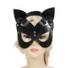 Picture of PU Mardi Gras Mask - Cat Face