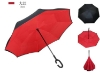 Picture of Upside Down C-Handle Reverse Umbrella - Red