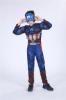Picture of Boys Superhero Muscle Costume - Captain America