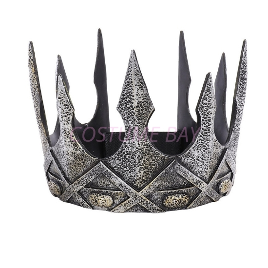 Picture of Medieval Renaissance King/Queen Silver Crown