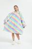 Picture of Oversized Winter Blanket Hoodie - Black