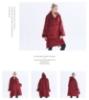 Picture of Oversized Winter Blanket Hoodie - Lotus Pink