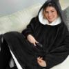 Picture of Sweatshirt Hoodie Blanket - Navy