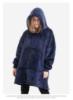 Picture of Kids Blanket Hoodie - Blue