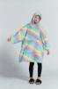 Picture of Delux Kids Blanket Hoodie - Rainbow5