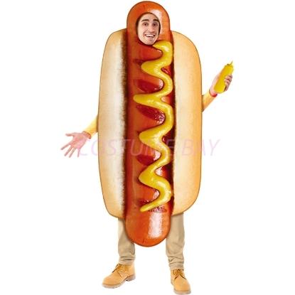 Picture of Mens  Hotdog Bodysuit  Fancy Costume