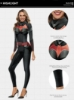 Picture of Bat Women Jumpsuit Costume