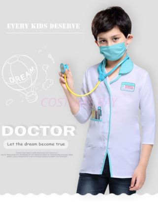 Picture of Kids Doctor Costume for Book Week