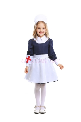 Picture of Little Girls Nurse Costume for Book Week