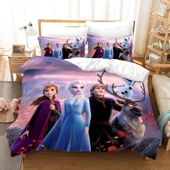 Picture of Duvet Cover Set with Pillowcase - Frozen