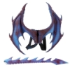 Picture of 3D Dragon Wing And Tail Set - Black