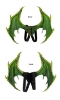 Picture of 3D Dragon Wing And Tail Set - Red