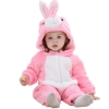Picture of Pink Rabbit Baby Kigurumi Onesie Romper