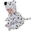 Picture of Snow Leopard Baby Kigurumi Onesie Romper