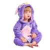 Picture of Purple Owl Baby Kigurumi Onesie Romper
