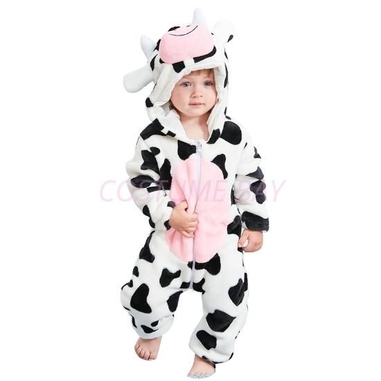 Picture of Cow Baby Kigurumi Onesie Romper