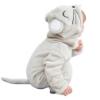 Picture of Little Grey Mouse Baby Kigurumi Onesie Romper