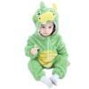 Picture of Green Dinosaur Baby Kigurumi Onesie Romper