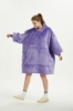 Picture of Oversized Winter Blanket Hoodie - Purple