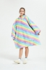 Picture of Oversized Winter Blanket Hoodie - Yellow Fruit