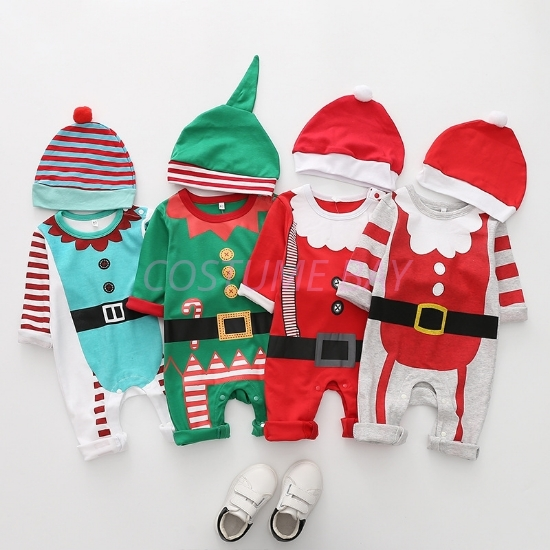 Picture of Christmas Baby Romper Jumpsuit