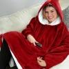 Picture of Sweatshirt Hoodie Blanket - Dark Grey