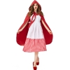Picture of Womens Little Red Riding Hood Red and White Checked Dress